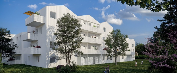 Appartements neufs Mérignac référence 5302 : aperçu n°2