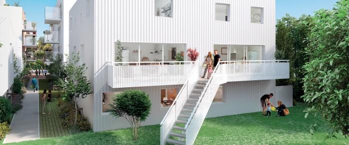 Appartements neufs Mérignac référence 5302 : aperçu n°3