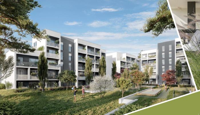 Appartements neufs Lormont référence 5445 : aperçu n°0