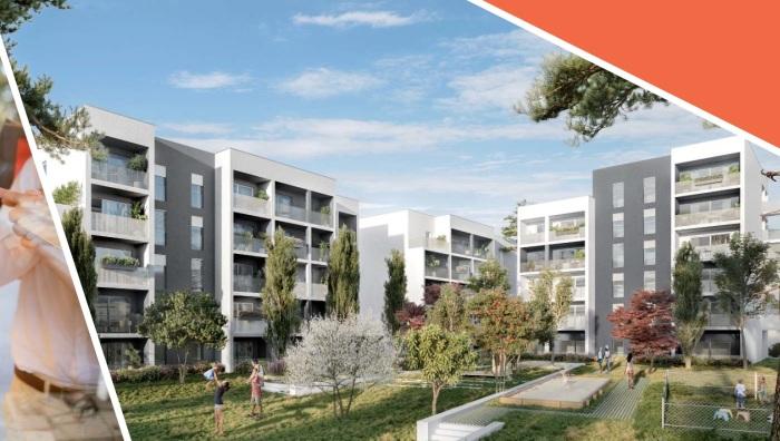 Appartements neufs Lormont référence 5445 : aperçu n°2