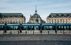 Le tramway à Bordeaux, place de la Bourse