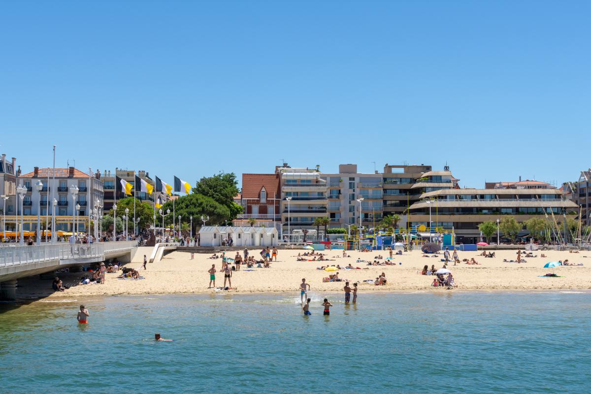 cote argent immobilier - Les bords de plages d'arcachon