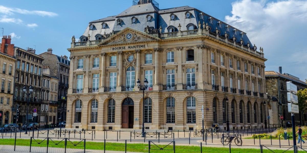 Immobilier neuf Bordeaux - vue sur la Bourse Maritime de Bordeaux