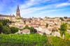 Vue sur le village de Saint-Émilion