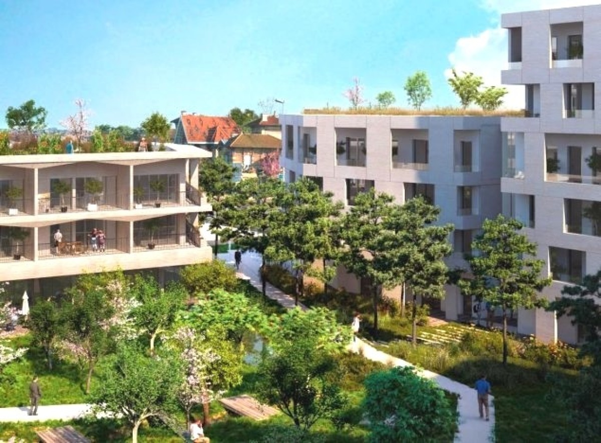 Pessac quartier annexe de Bordeaux - le nouveau projet immobilier Epure à Pessactitle