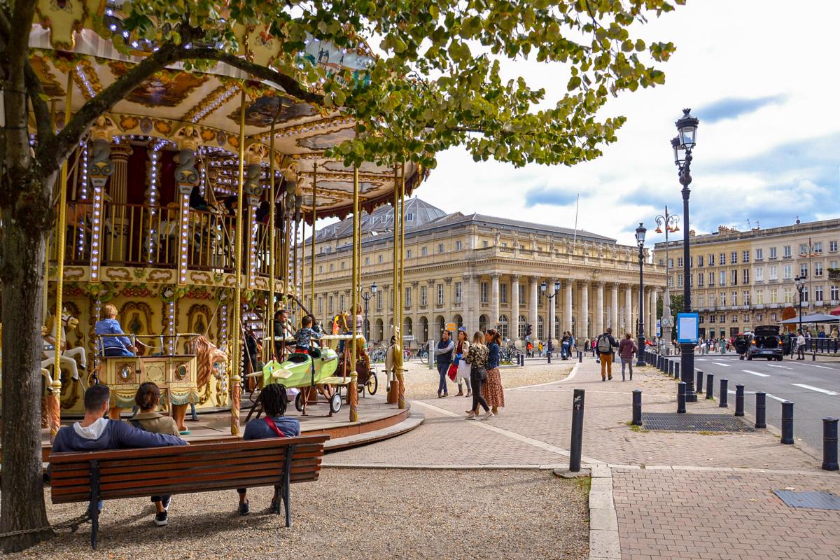 Loi Pinel Bordeaux - Le Grand Théâtre de Bordeaux et le carrousel