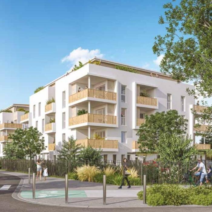 Appartements neufs Floirac référence 5493 : aperçu n°2