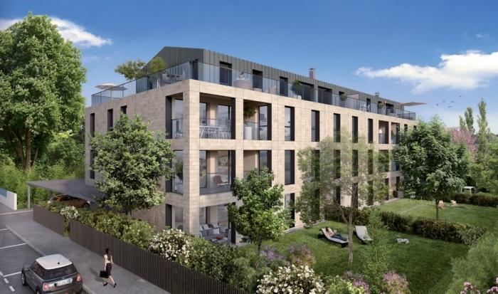 Appartements neufs Le Bouscat référence 5498 : aperçu n°0