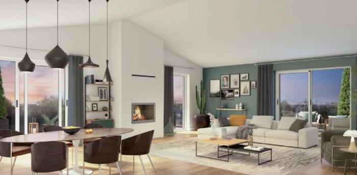 Appartements neufs Le Bouscat référence 5498 : aperçu n°1