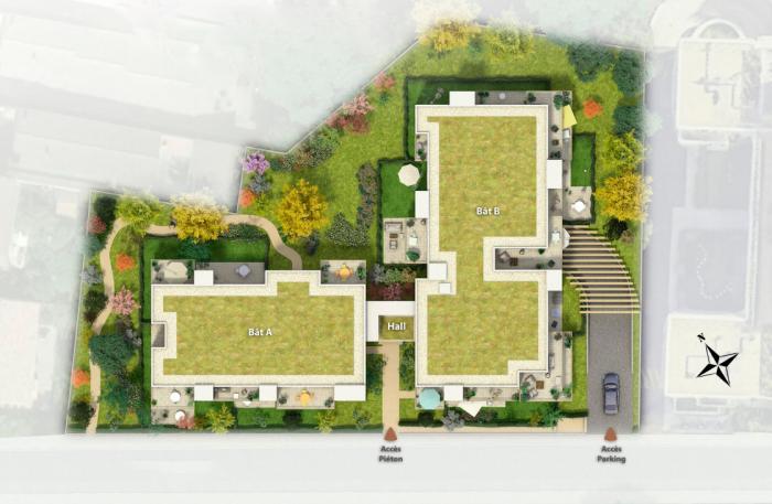 Appartements neufs Caudéran référence 5514 : aperçu n°3