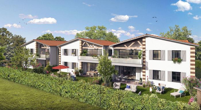 Appartements neufs Parempuyre référence 5518 : aperçu n°0