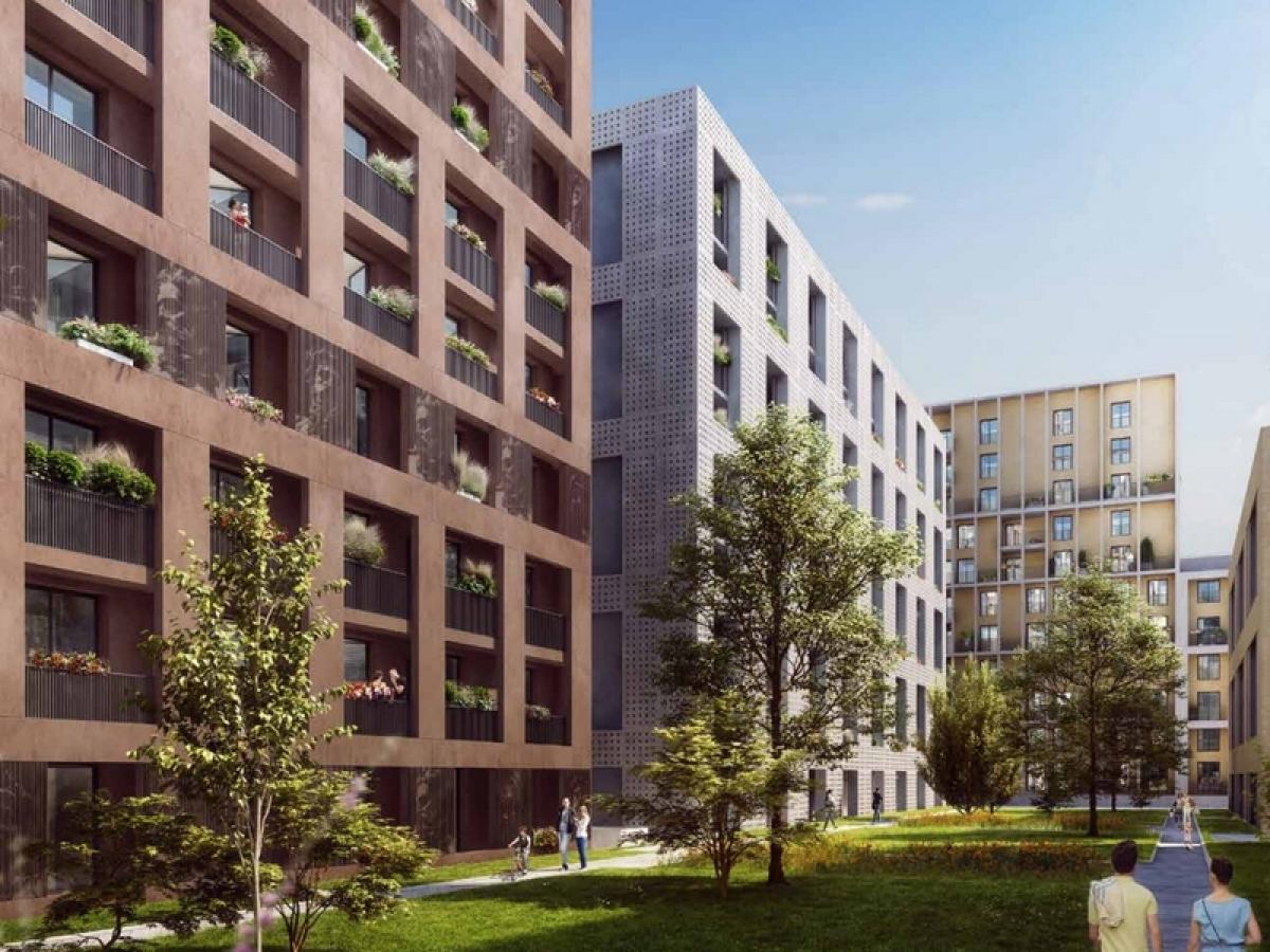 Immobilier neuf à Bordeaux Saint-Jean - La résidence Cœur Saint-Germain