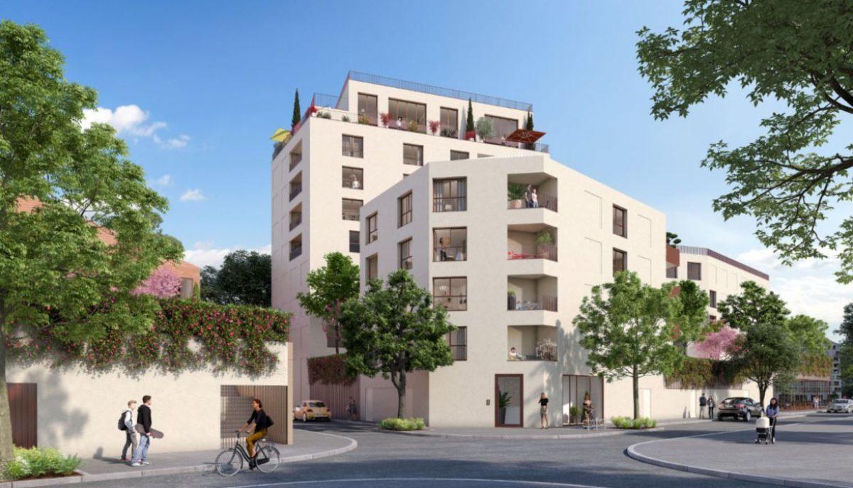 Immobilier neuf à Bordeaux Les Chartrons – La résidence Escale sur Jardin