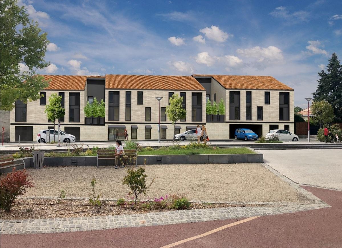 Immobilier neuf à Le Taillan Médoc - La résidence Ecla