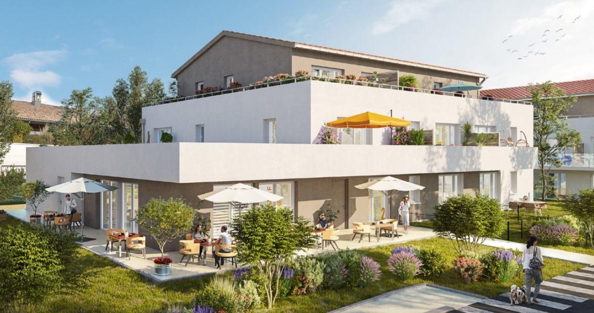 Immobilier neuf à Carbon Blanc - Résidence Harmony