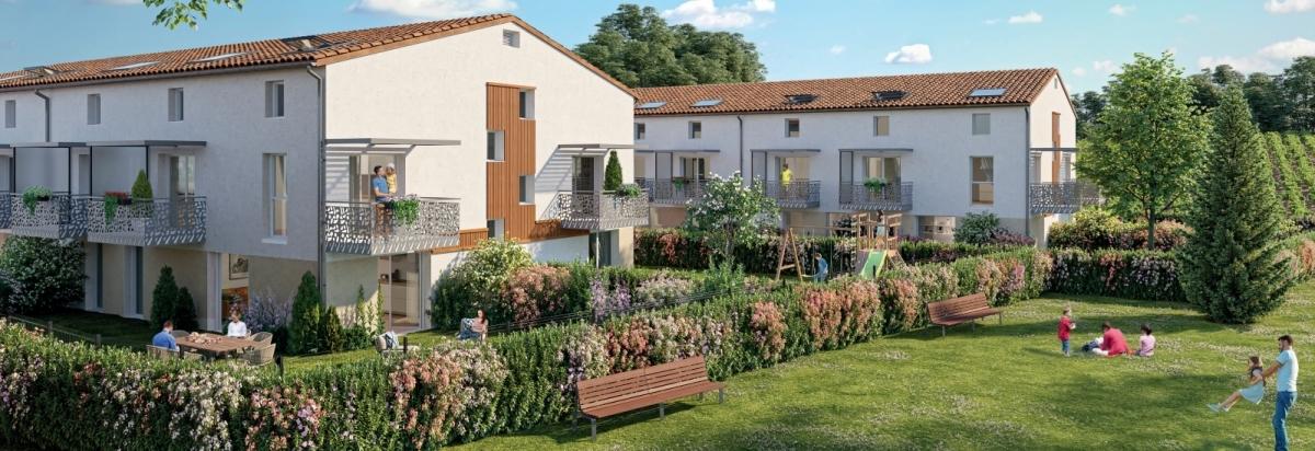 Immobilier neuf à Montussan - Résidence Domaine de Lalande