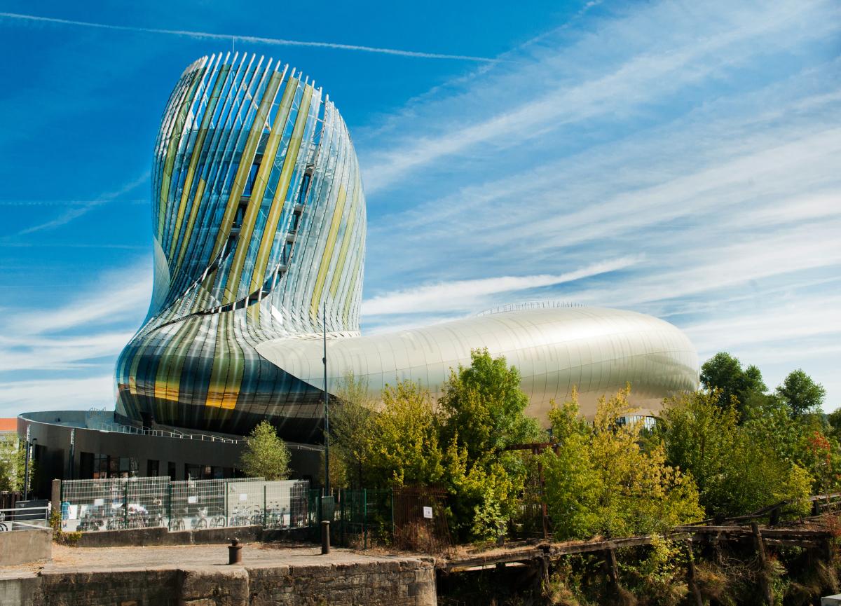 Bordeaux et le vin - La cité du vin à Bordeaux