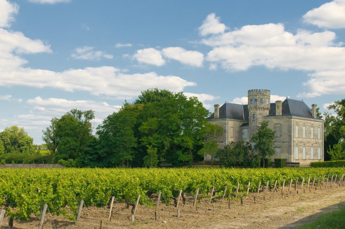 Bordeaux et le vin - le château et vignoble de Margaux