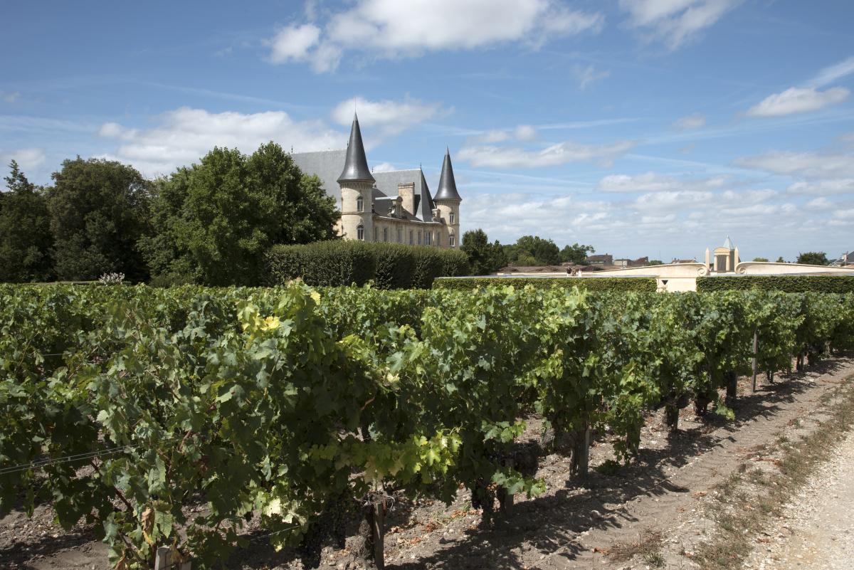 Bordeaux et le vin - le château de Pauillac