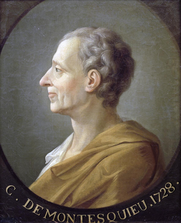 Personnalités de Bordeaux - Portrait de Montesquieu