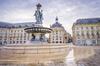 Politiques publiques à Bordeaux - La place de la Bourse à Bordeaux et son palais