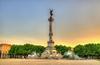 Politiques publiques à Bordeaux - Le monument aux Girondins, place des Quinconces à Bordeaux