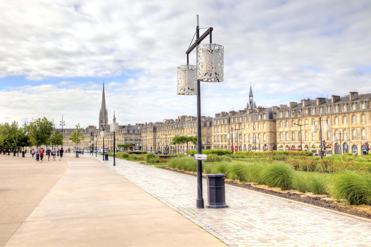 Politiques publiques à Bordeaux - Les quais de la Garonne à Bordeaux