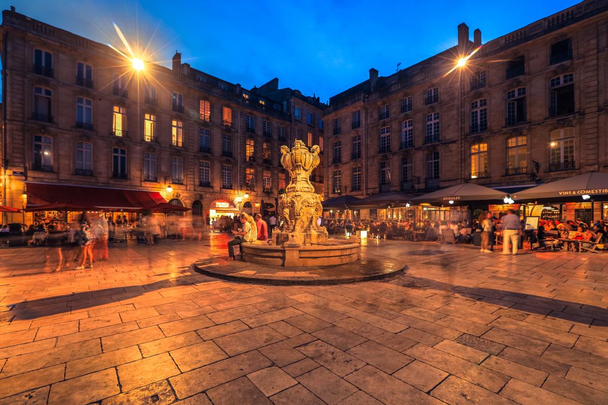 Politiques publiques à Bordeaux - La place du Parlement à Bordeaux
