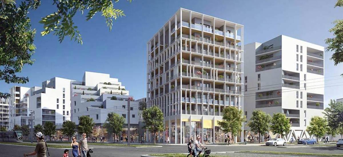 projets urbains bordeaux - un programme immobilier neuf à Bordeaux au sein du quartier Ginko