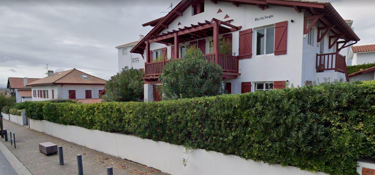Immobilier neuf à Bidart - vue sur une maison basque à Bidart
