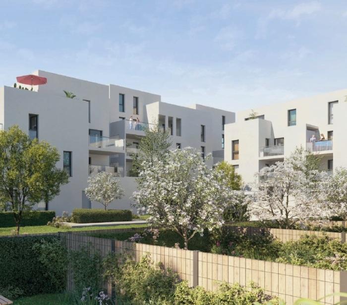 Appartements neufs Saint-Médard-en-Jalles référence 5542 : aperçu n°3