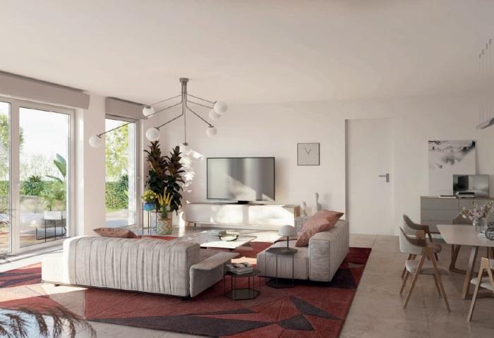 Appartements neufs Saint-Médard-en-Jalles référence 5542 : aperçu n°1