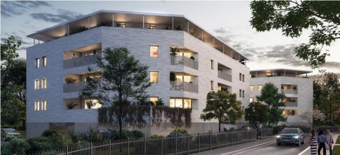 Appartements neufs Floirac référence 5547 : aperçu n°0