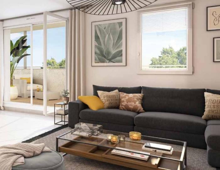 Appartements neufs Floirac référence 5547 : aperçu n°2