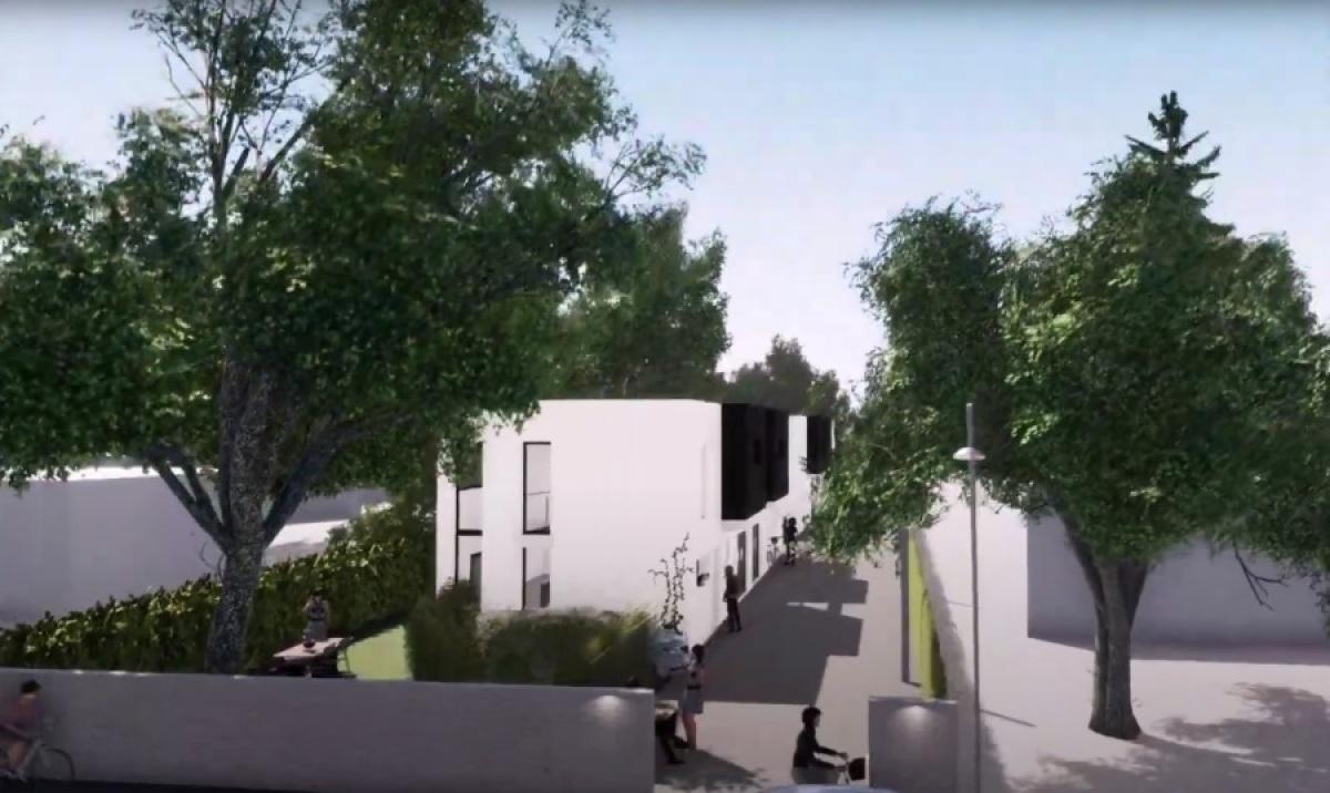 ADN Patrimoine à Bordeaux – vue sur une résidence réalisée par ADN Patrimoine à Parempuyre
