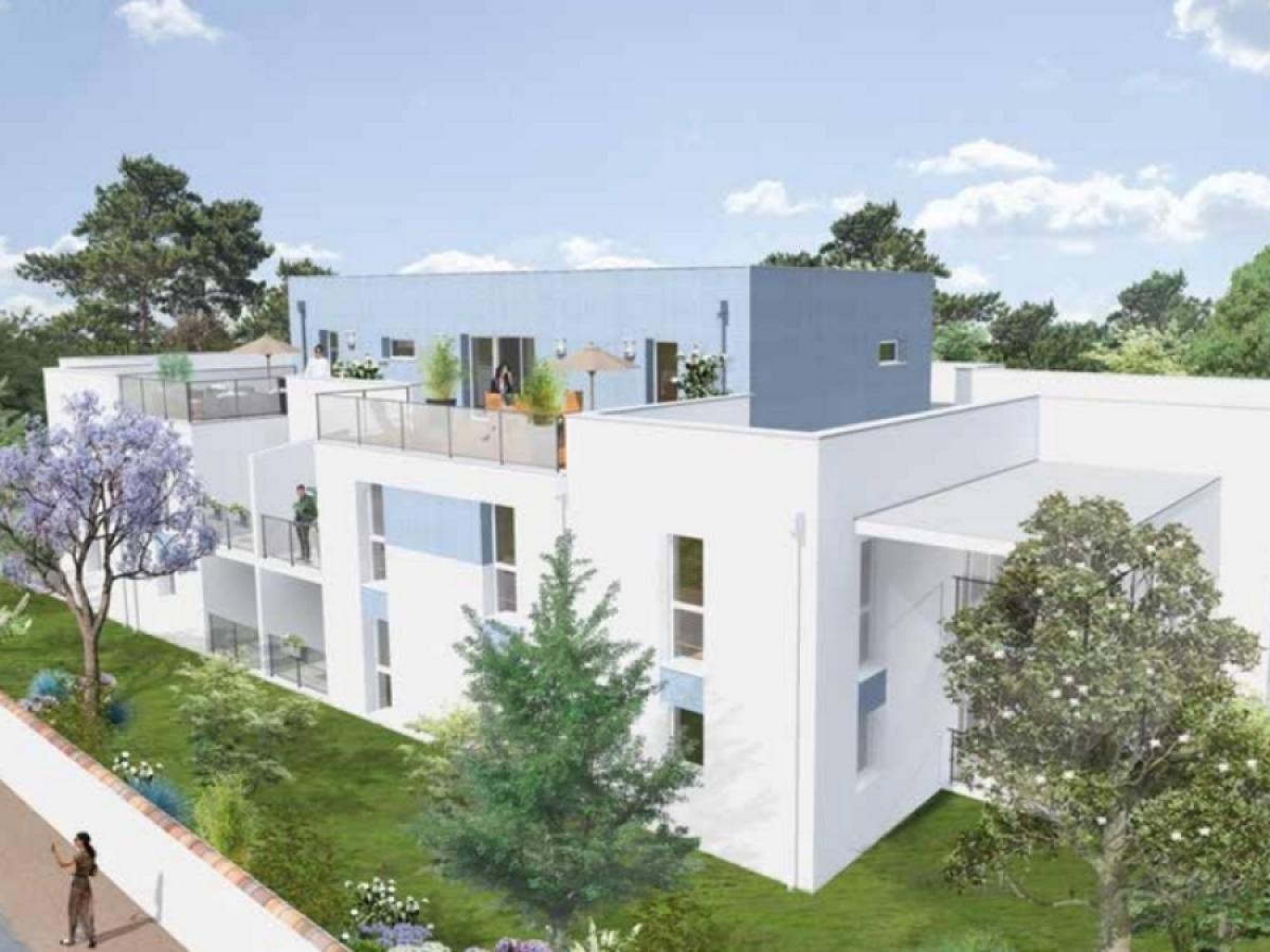 Groupe ALLEGRO – vue sur la résidence Isatis à Villenavde-d'Ornon près de Bordeaux