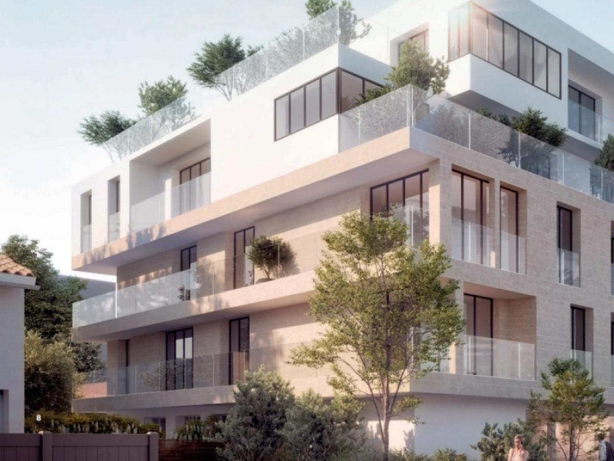 Groupe ALLEGRO – vue sur la résidence Villa 105 dans le quartier Caudéran à Bordeaux