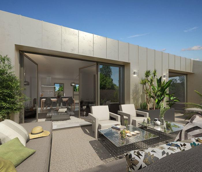 Appartements neufs Villenave-d'Ornon référence 5672 : aperçu n°3