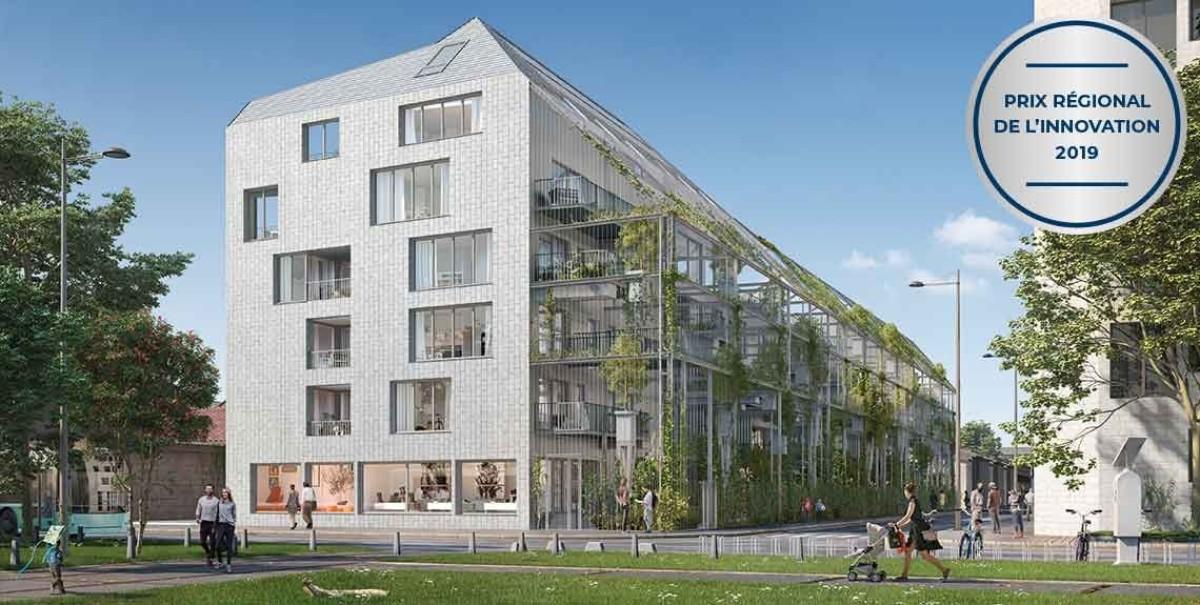 La résidence EKKO à Bordeaux