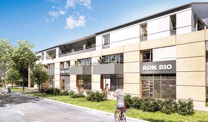 Appartements neufs Carbon-Blanc référence 5695 : aperçu n°0