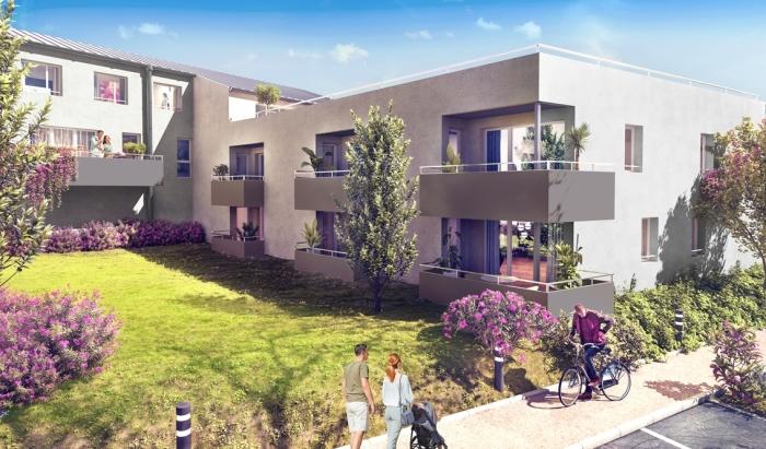 Appartements neufs Carbon-Blanc référence 5695 : aperçu n°2
