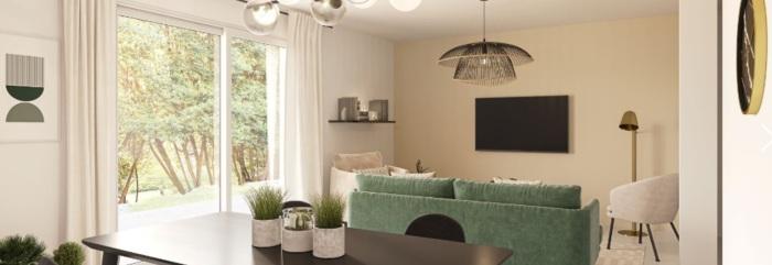 Appartements neufs Artigues-près-Bordeaux référence 5718 : aperçu n°1