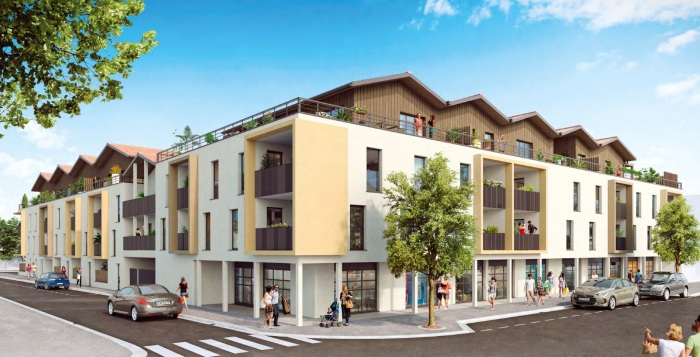 Appartements neufs Biscarrosse référence 5933 : aperçu n°0