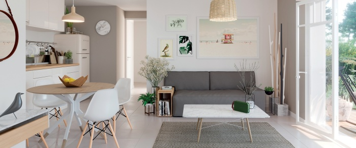 Appartements neufs Biscarrosse référence 5961 : aperçu n°1