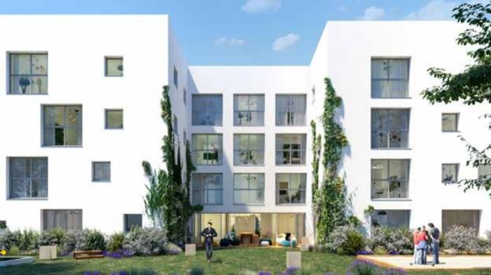 Appartements neufs Mérignac référence 5733 : aperçu n°2