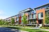 construction neuve - Des habitations modernes en brique et verre