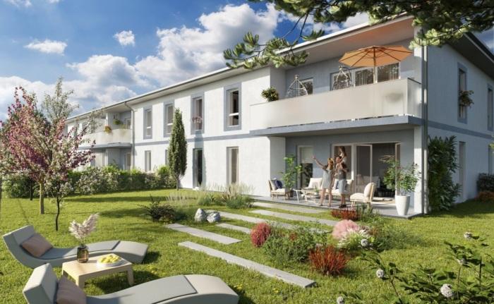 Appartements neufs Saint-Jean-d'Illac référence 5774 : aperçu n°0