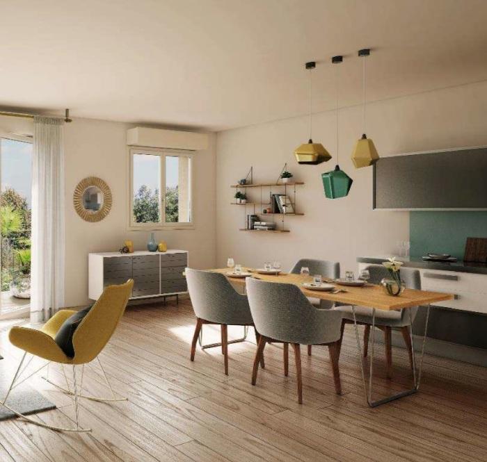 Appartements neufs Saint-Jean-d'Illac référence 5774 : aperçu n°1