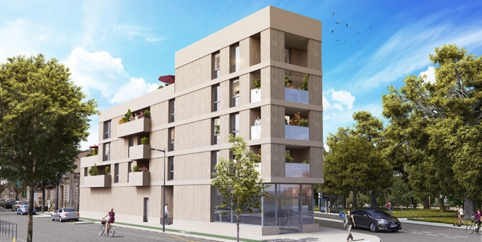 Appartements neufs Caudéran référence 5780 : aperçu n°0