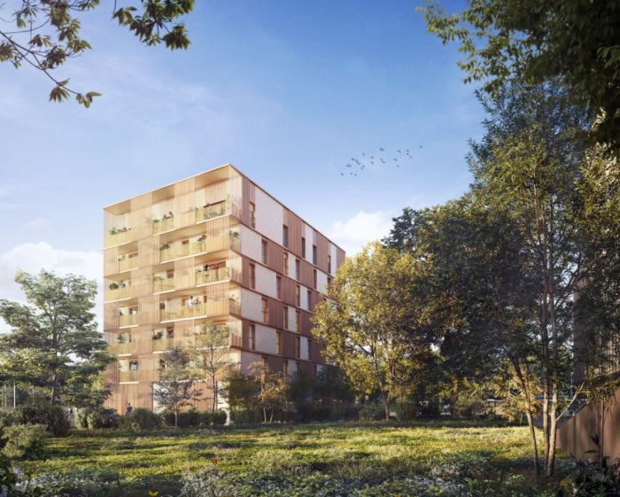 Appartements neufs Bruges référence 5814 : aperçu n°0